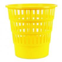 Odpadkový koš DONAU PP perforovaný 16l žlutý