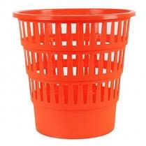 Odpadkový koš DONAU PP perforovaný 16l oranžový