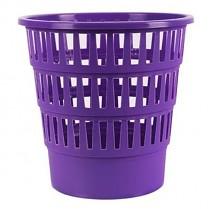 Odpadkový koš DONAU PP perforovaný 16l fialový