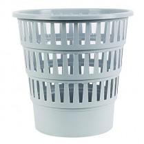 Odpadkový koš DONAU PP perforovaný 16l šedý