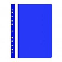 Rychlovazač Donau OFFICE PRODUCTS PP A4 čirá přední str. závěsný 100/170µm modrá