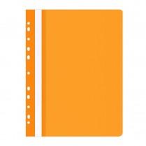 Rychlovazač Donau OFFICE PRODUCTS PP A4 čirá přední str. závěsný 100/170µm oranžový