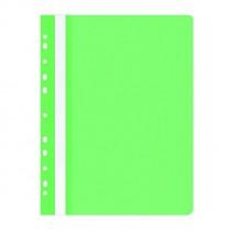 Rychlovazač Donau OFFICE PRODUCTS PP A4 čirá přední str. závěsný 100/170µm světle zelený