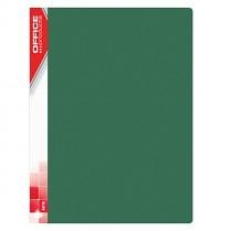 Katalogová kniha prezentační Donau Office Products PP 10 kapes zelená