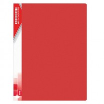 Katalogová kniha prezentační Donau Office Products PP 40 kapes červená