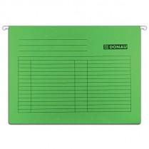 Závěsné desky DONAU karton A4 zelené