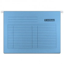 Závěsné desky DONAU karton A4 modré
