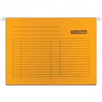 Závěsné desky DONAU karton A4 oranžové