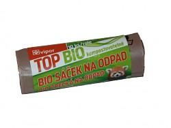Odpadkové pytle VIPOR TOP BIO 20L s uchy kompostovatelné