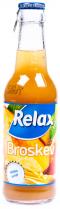 RELAX nápoj 24x250ml Broskev - sklo