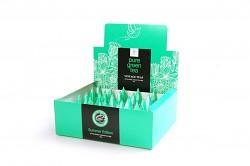 Čaj VT Pure Green Tea Gunpowder zelený čaj 30 x 2,5g pyramidové sáčky