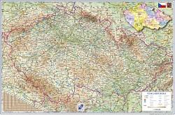 Podložka stolní - mapa ČR 60x40cm