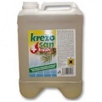 Čisticí a dezinfekční prostředek  Krezosan 5 l Fresh plus