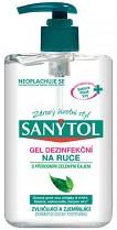 SANYTOL dezinfekční gel na ruce s dávkovačem 250 ml  virucidní