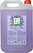 Dezinfekční mýdlo RIVA Rozmarýn a Fialky 5l antibakteriální