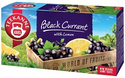 Teekanne 20x2,5g Black currant with Lemon ovocný čaj