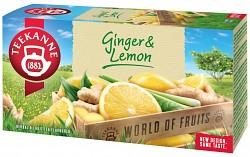 Teekanne 20x1,75g Ginger Lemon ovocný čaj