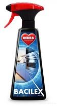 Univerzální čistič BACILEX Polar Breeze 500ml s 70% alkoholu s rozprašovačem