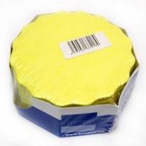 Rozetka 8,5cm žlutá
