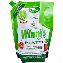 Winni's Piatti Naturel Lime ECO prostředek na nádobí limetka 1000ml