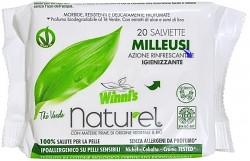 Winni's Naturel vlhčené ubrousky na ruce 20 kusů