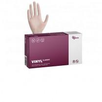 Rukavice jednorázové Espeon VINYL CLASSIC nepudrované 100ks L  bílé