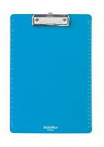 Podložka psací s klipem PANTAPLAST PVC A4 pastelově modrá