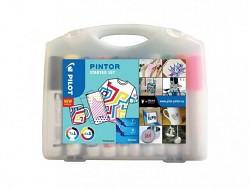 Popisovač akrylový Pilot PINTOR pro DIY použití STARTER SET sada 11 kusů