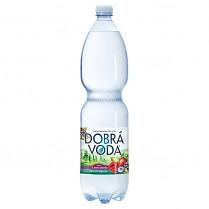 Dobrá voda 1,5L Lesní plody jemně perlivá