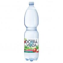 Dobrá voda 1,5L Lesní jahoda jemně perlivá