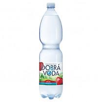 Dobrá voda 1,5L Jahoda neperlivá