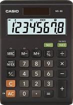 Kalkulačka Casio MS-8B
