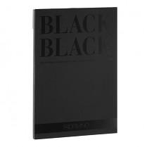 Blok Fabriano Black Black 300g A4 20 listů