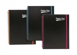 """Blok PUKKA PAD """"Neon notepad"""" A4+ linka s gumičkou  mix barev"""