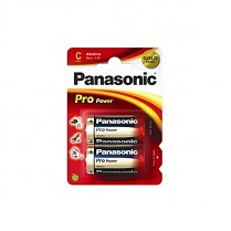 Baterie Panasonic Pro Power Alkaline 2ks malé monočlánky 1,5 V