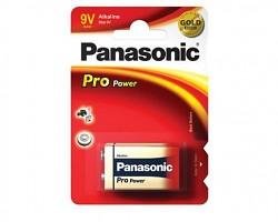 Baterie Panasonic Pro Power Alkaline 9v 1kus