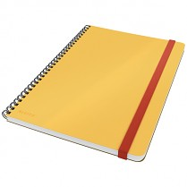 Zápisník Leitz Cosy kroužkový, linkovaný, žlutý