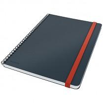 Zápisník Leitz Cosy kroužkový, linkovaný, šedý