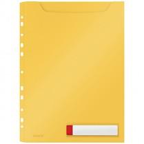 Velkokapacitní desky Leitz Cosy neprůhledné, žluté