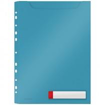 Velkokapacitní desky Leitz Cosy neprůhledné, modré