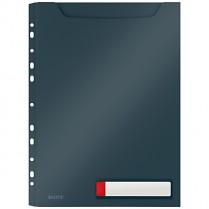 Velkokapacitní desky Leitz Cosy neprůhledné, šedé
