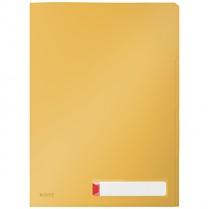 Třídicí desky Leitz Cosy, neprůhledné, žluté