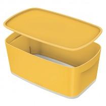 Úložný přenosný box Leitz Cosy MyBox žlutý
