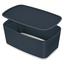 Úložný přenosný box Leitz Cosy MyBox šedý