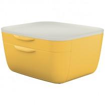 Zásuvkový box Leitz Cosy žlutý