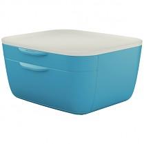 Zásuvkový box Leitz Cosy modrý