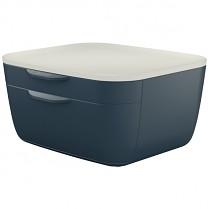 Zásuvkový box Leitz Cosy šedý