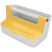 Přenosný box Leitz Cosy MyBox žlutý