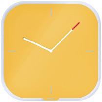Nástěnné hodiny Leitz Cosy žluté