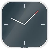 Nástěnné hodiny Leitz Cosy šedé